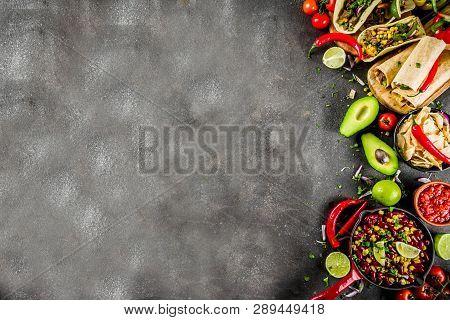 Mexican Food Concept. Cinco De Mayo Food.