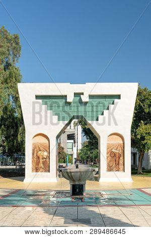 Silva Family Fountain And Cesar Chavez Monument