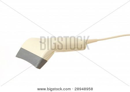 Barcode Scanner Isolated On A White Background