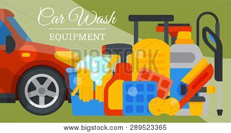 Car Wash Banner Water Vector Photo Free Trial Bigstock