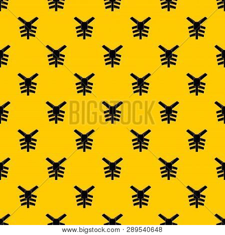 Human Thorax Pattern Seamless Vector Repeat Geometric Yellow For Any Design
