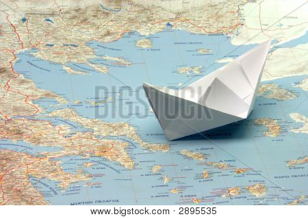 Travel To Greece By Boat