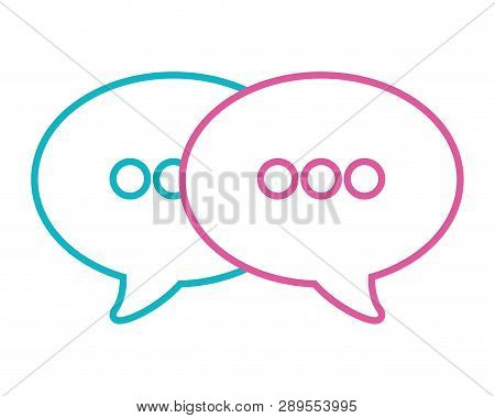Speech Bubble Cartoon Vector Illustration Graphic Design