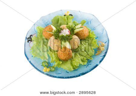 Fish And Potato Balls