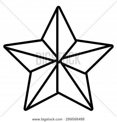 Isolated Star Cartoon Vector Illustration Graphic Design