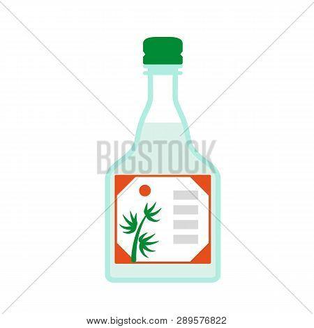 Balsamic Vinegar Icon. Flat Illustration Of Balsamic Vinegar Vector Icon For Web Design