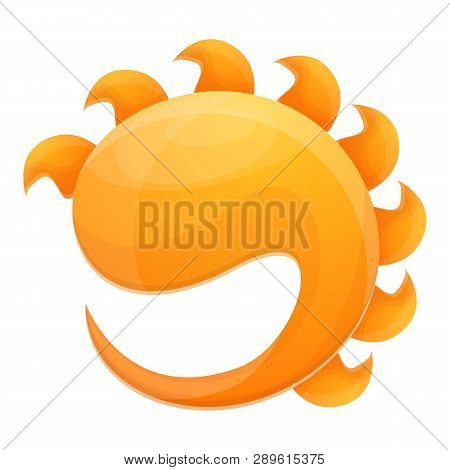 Sunlight Protect Icon. Cartoon Of Sunlight Protect Icon For Web Design Isolated On White Background