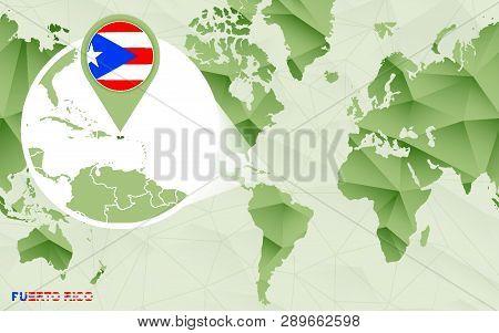America Centric World Vector & Photo (Free Trial)   Bigstock