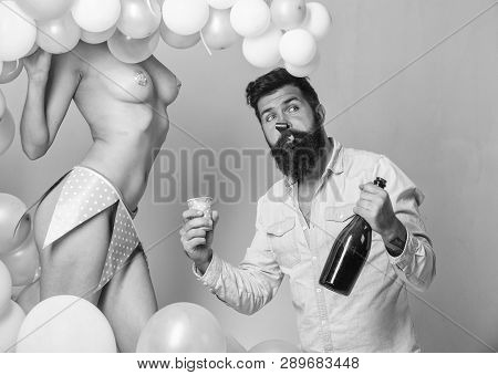 Idea For Bachelor Party. Party For Adult. Birthday Stripper For Him. Strip Dance For Birthday Surpri