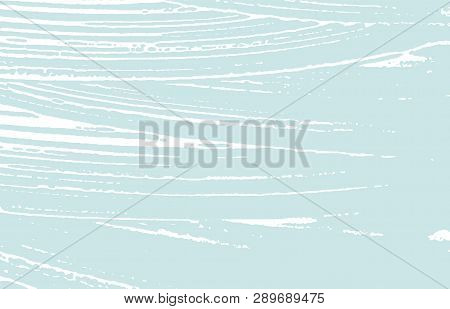 Grunge Texture. Distress Blue Rough Trace. Charming Background. Noise Dirty Grunge Texture. Vibrant