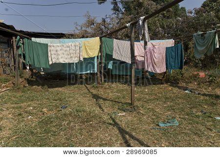 Washing Lines At Nekemte Hospital