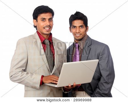 Successful Indian business people