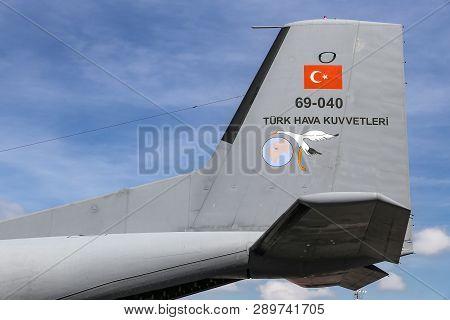 Transall C-160D In Teknofest Istanbul