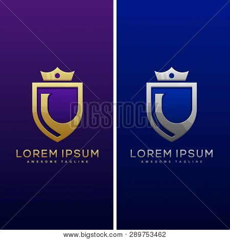 Luxury Letter L Concept Illustration Vector Design Template. Suitable For Creative Industry, Multime