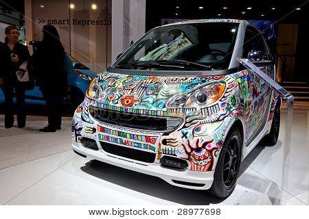 Artist Painted Smart Car 2012 Naias