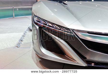 Acura Nsx Concept Headlight Detail