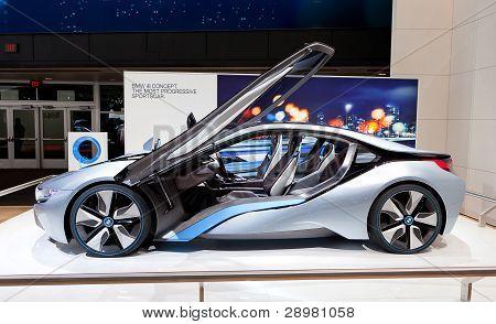 Bmw I8 Concept Electric