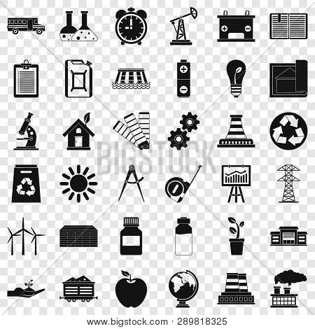 Organization Icons Set. Simple Style Of 36 Organization Vector Icons For Web For Any Design