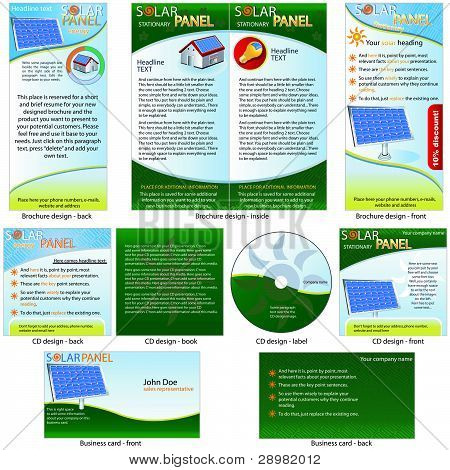 Solar-Panel stationäre