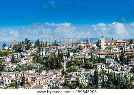 Old Town Granada On Image & Photo (Free Trial) | Bigstock