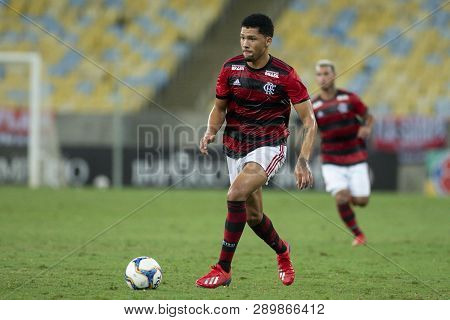 Rio, Brazil - March 16, 2019: Vitor Gabriel  Player In Match Between Flamengo And Volta Redonda By T