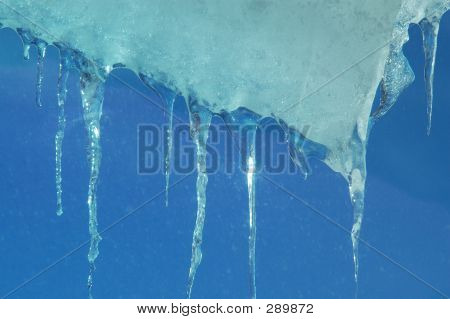 Ice Falling From Window