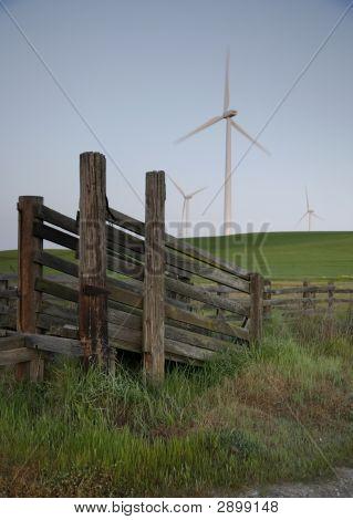 Cattleshoot Windmill Verticle