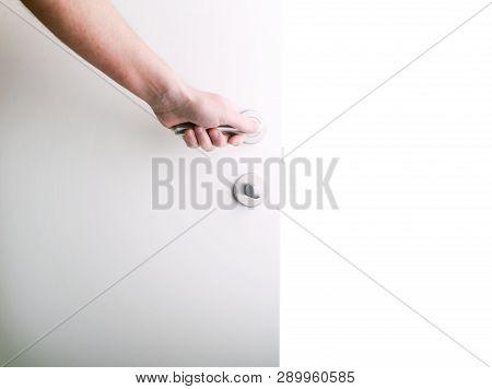 Hand Opening Door Knob-white Door.knob Door Wooden Door White Stainless Door Knob Or Handle, Hand Kn