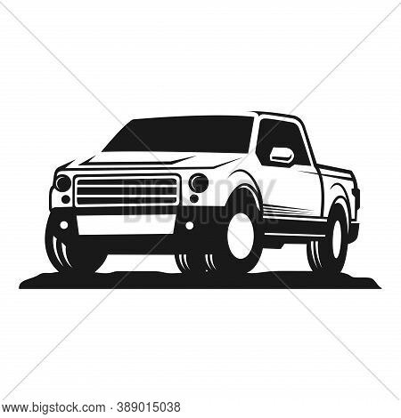 Car. Car Pickup Logo Vector. Car Silhouette Vector. Car Icon. Auto Car Logo. Car Vector. Car Logo. C