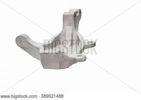Gravity Die Casting Aluminium Bracket  Parts Made From Alloy Steel Tooling ; White Background