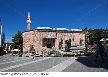 Plovdiv, Bulgaria - 12 Jul 2015: Djumaya Mosque In Plovdiv, Bulgaria