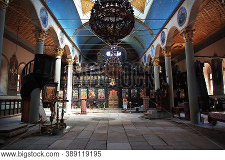 Plovdiv, Bulgaria - 12 Jul 2015: Sveta Petka Church, Plovdiv, Bulgaria
