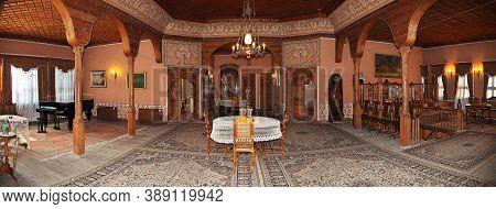 Plovdiv, Bulgaria - 12 Jul 2015: Balabanov House In Plovdiv, Bulgaria