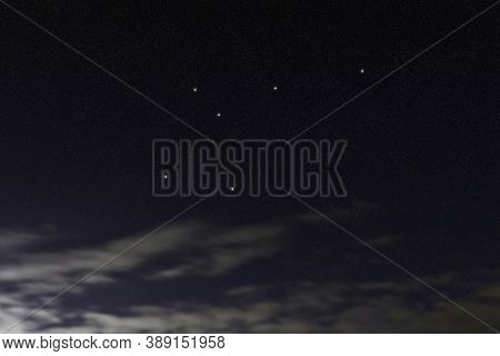 Musca Star Constellation, Night Sky, Cluster Of Stars, Deep Space, Fly Constellation