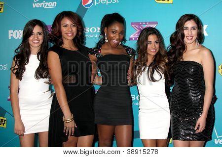 LOS ANGELES - NOV 5: 1432 - Ally Brooke, Camila Cabello, Normani Hamilton, Dinah Jane Hansen, Lauren Jauregui arrives at the X-Factor FInalist Party at SLS Hotel on November 5, 2012 in Los Angeles, CA