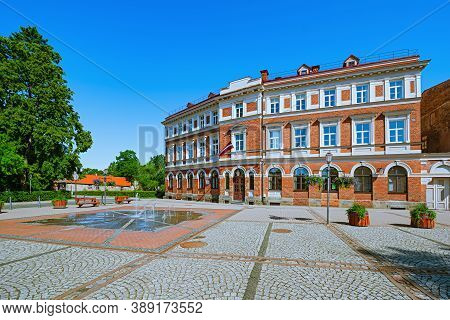 Old Building The Centre Of Cesis, Latvia