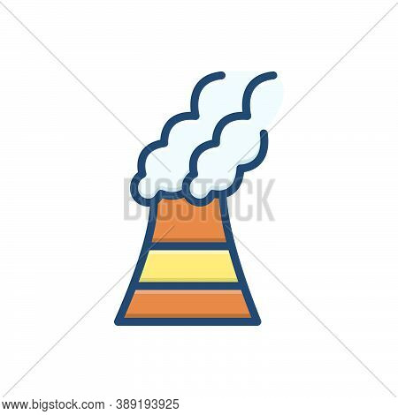 Color Illustration Icon For Pollutants Pollutant Polluted Toxic Environmental Harmful Chemicals Fact