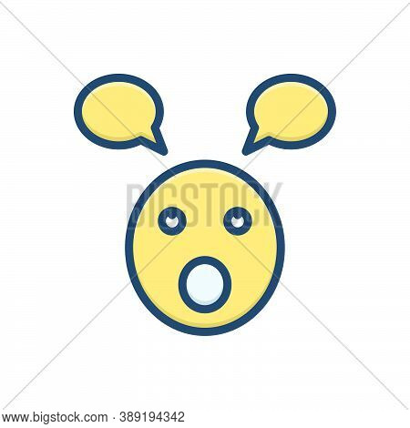 Color Illustration Icon For Parakeet Foolish Stupid Silly Unwise Emoji