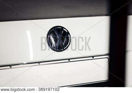 Volkswagen Motor Show Logo Marketing Automaker Brand Trademark Europe