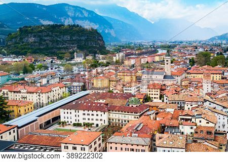 The Church Of Santa Maria Maggiore Is An Important Place Of Worship In The Trento City In Trentino A