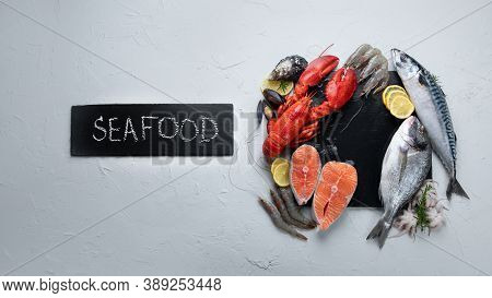 Raw Fish And Seafood