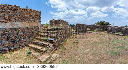 Dungur (or Dungur 'addi Kilte) Is The Ruins Of A Substantial Mansion In Aksum, Ethiopia - Ruins Of T