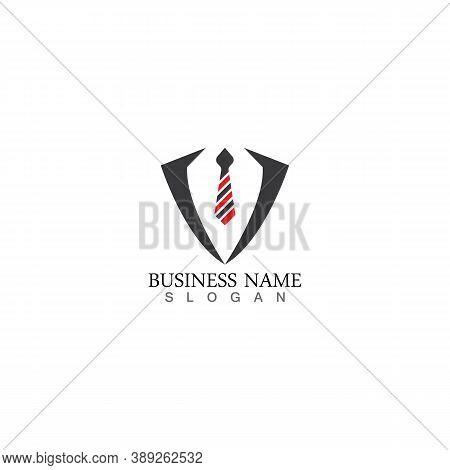 Tuxedo Logo Graphic Modern Shape Symbol Vector