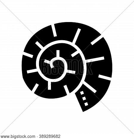 Clam Shell Glyph Icon Vector. Clam Shell Sign. Isolated Contour Symbol Black Illustration