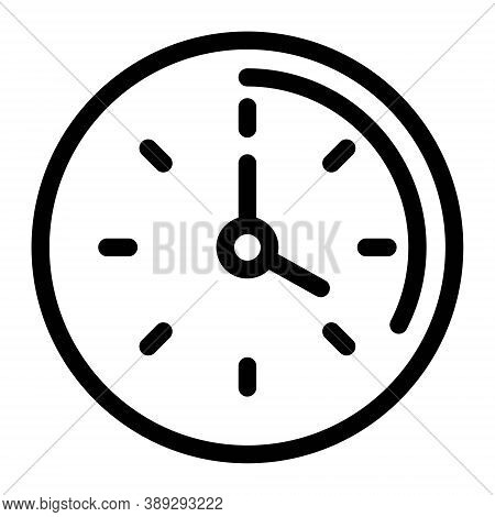Timer Icon. Countdown Sign. Clock, Time Symbol. Start, Stop, Counter Concept. Chronograph, Performan