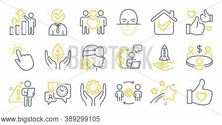 Set Of People Icons, Such As Crowdfunding, Engineering Team, Meeting Symbols. Like, Employee Hand, T