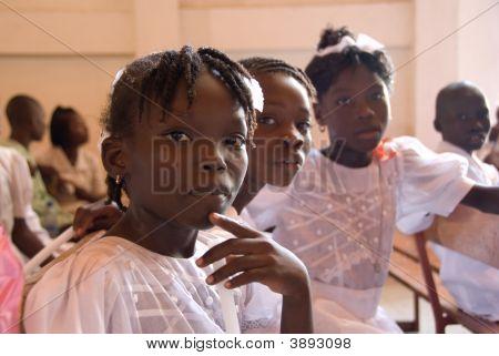 haitianische Mädchen