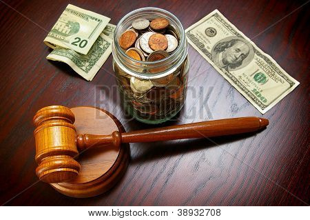 Cash And Gavel