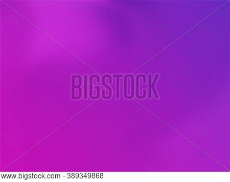 Neon Holographic Paper Fluid Gradient Backdrop. Luminous Blue Purple Ultraviolet Background. Polar L