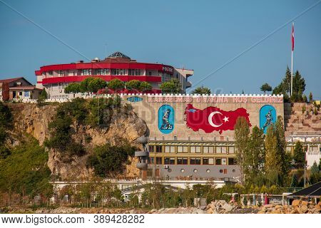 Kozlu / Zonguldak 1 October 2020 Kozlu City View And Beach